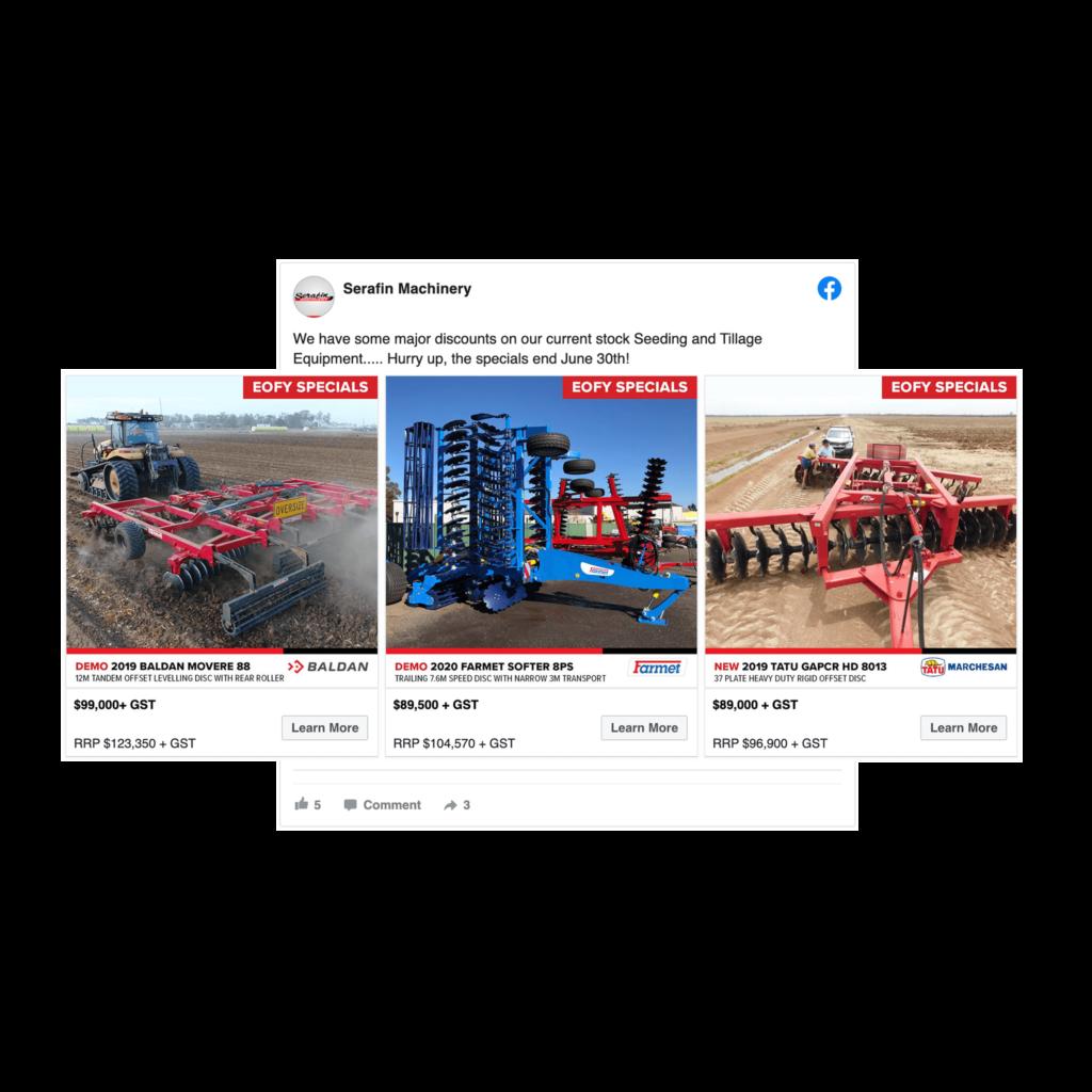 Serafin Machinery -