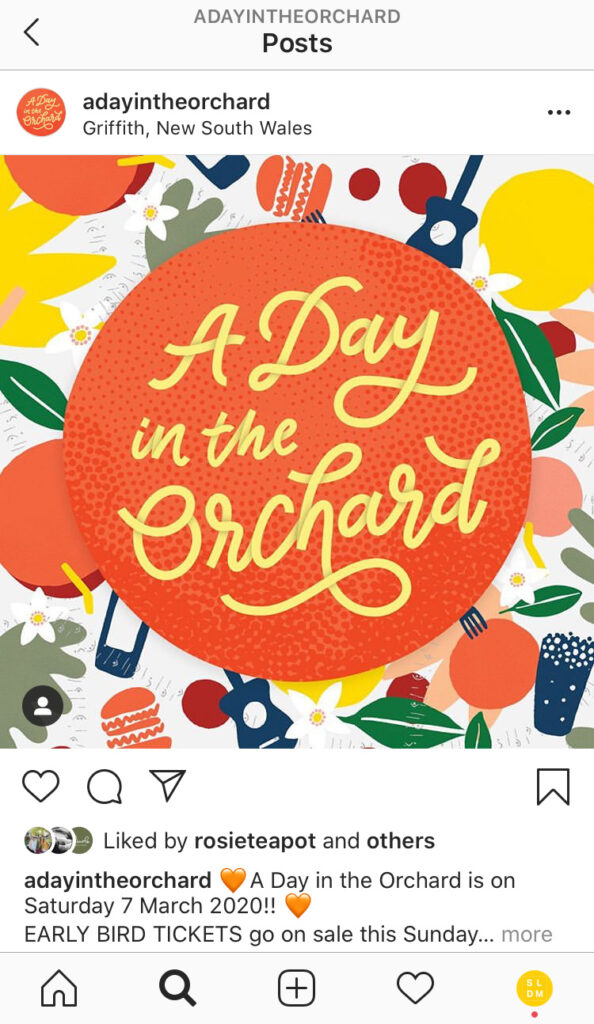 A Day in the Orchard -