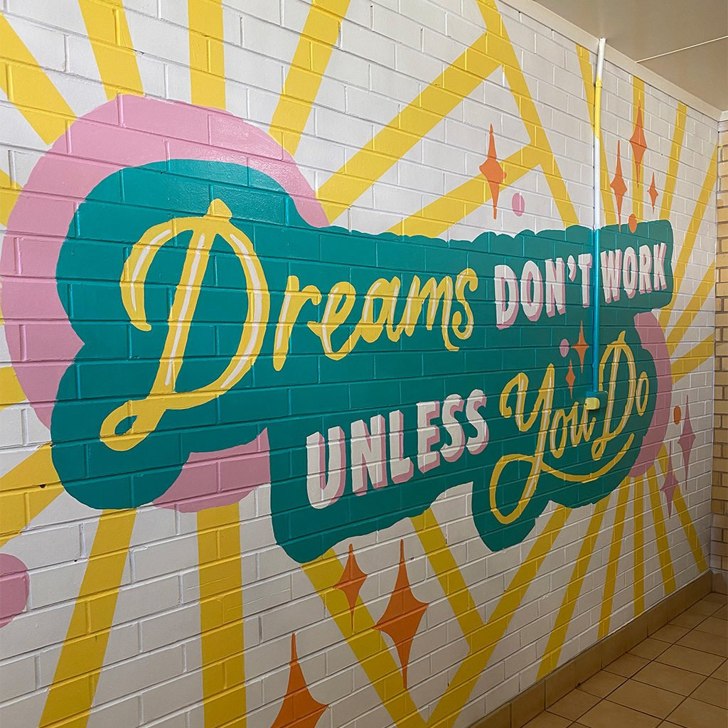 Griffith Public School Murals -