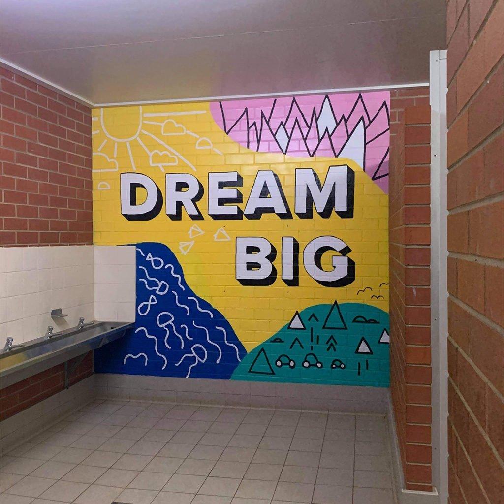 Griffith Public School Murals -